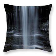 Wilderness Waterfall Throw Pillow