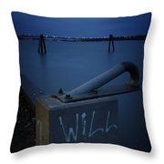 1 Will Of The Hudson 2 Throw Pillow