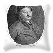 William Cheselden Throw Pillow