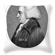 William Cullen (1710-1790) Throw Pillow