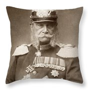 William I Of Prussia (1797-1888) Throw Pillow