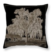 Willow Ranch Throw Pillow