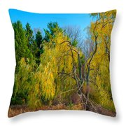 Willow Will Throw Pillow