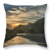 Winding Down Throw Pillow by Adam Jewell