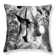 Winged Girl 6 Throw Pillow