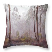 Winter At Wickham Throw Pillow