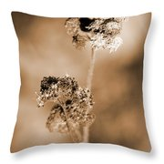 Withering Weed Throw Pillow