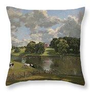 Wivenhoe Park  Essex Throw Pillow