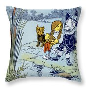 Wizard Of Oz, 1900 Throw Pillow