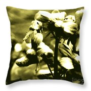 Woeful Throw Pillow