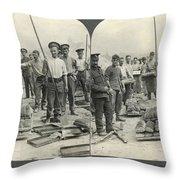 World War I Bakers Throw Pillow
