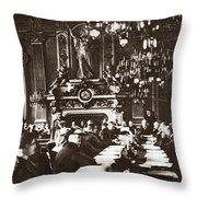 World War I Paris, 1919 Throw Pillow