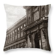 World War I Quai D'orsay Throw Pillow