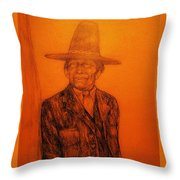 Wovoka Throw Pillow