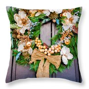 Wreath 24 Throw Pillow