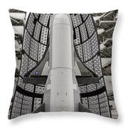 X-37b Orbital Test Vehicle Throw Pillow