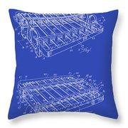 Xylophone Patent 1949 Throw Pillow