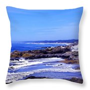 Yachats Oregon 2013 Throw Pillow