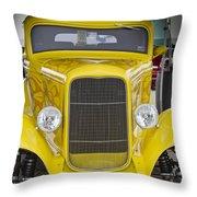 Yellow Submarine Two Throw Pillow