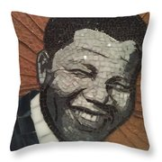 Young Nelson Throw Pillow