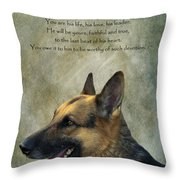 Your Friend Your Partner Your Defender Throw Pillow