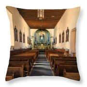 Ysleta Mission Of El Paso Texas Throw Pillow