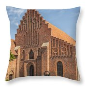 Ystad Monastery Throw Pillow