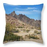 Yuma Desert Throw Pillow