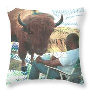 Zsup Throw Pillow