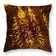 1 Zz Sunflower Throw Pillow
