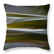 Blurscape Throw Pillow