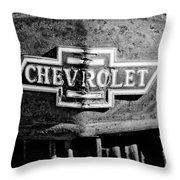 Chevrolet Grille Emblem Throw Pillow