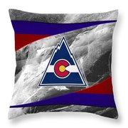 Colorado Rockies Throw Pillow