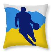 Denver Nuggets Throw Pillow