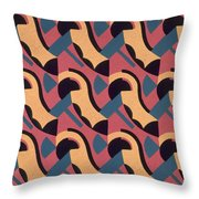 Design From Nouvelles Compositions Decoratives Throw Pillow