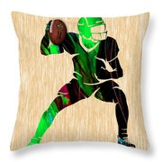 Football Throw Pillow