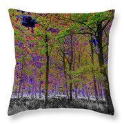 Forest Art Throw Pillow