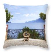 Isola Bella Throw Pillow