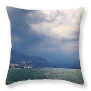 Lago Di Iseo Throw Pillow