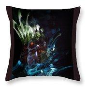 Light Strands Throw Pillow
