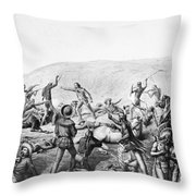 Little Bighorn, 1876 Throw Pillow
