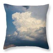 Nebraska Storm Cells A Brewin Throw Pillow