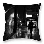 10 P M Throw Pillow