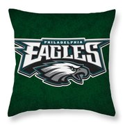 Philadelphia Eagles Throw Pillow