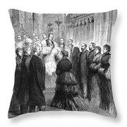Queen Victoria (1819-1901) Throw Pillow