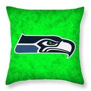 Seattle Seahawks Throw Pillow