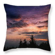 Summer Solstice Sunrise Throw Pillow by Thomas R Fletcher