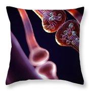 Synapse Throw Pillow