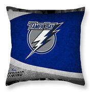 Tampa Bay Lightning Throw Pillow