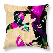 Tupac Collection Throw Pillow